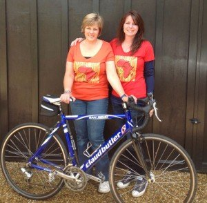 Anne Harris Sponsored Bike Ride